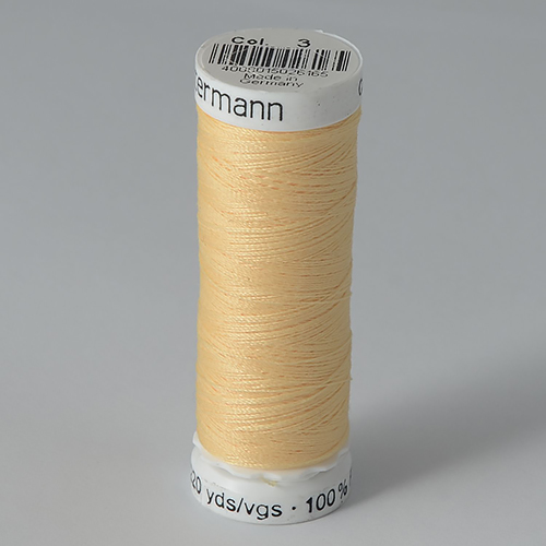 Нитки Gutermann SewAll №100 200м цвет 003