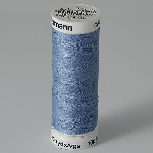 Нитки Gutermann SewAll №100 200м цвет 074
