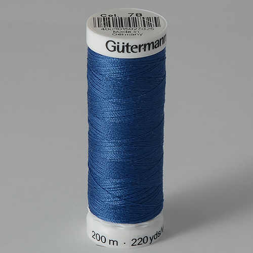 Нитки Gutermann SewAll №100 200м цвет 078