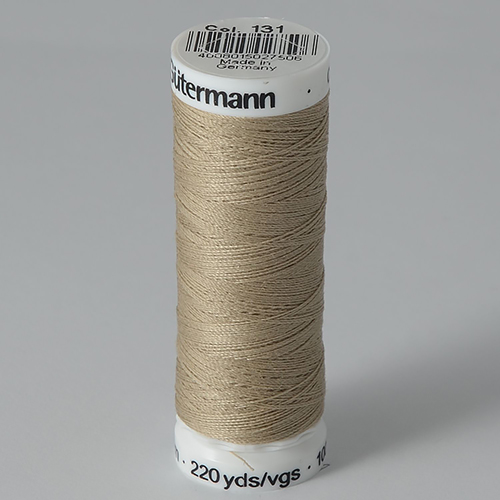 Нитки Gutermann SewAll №100 200м цвет 131