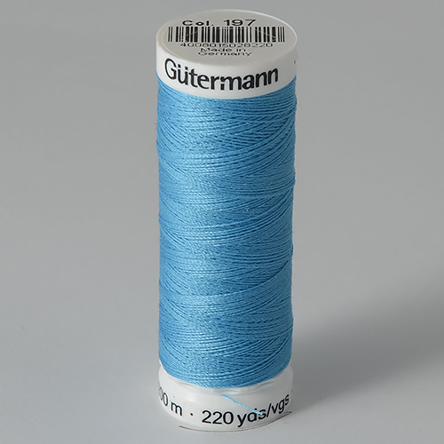 Нитки Gutermann SewAll №100 200м цвет 197