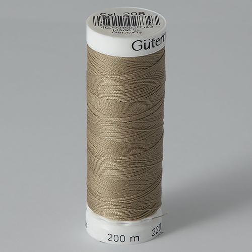 Нитки Gutermann SewAll №100 200м цвет 208