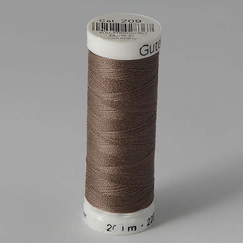 Нитки Gutermann SewAll №100 200м цвет 209