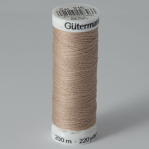 Нитки Gutermann SewAll №100 200м цвет 215