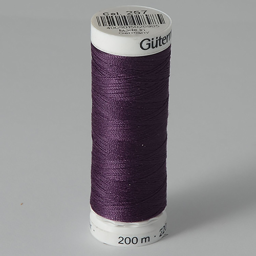 Нитки Gutermann SewAll №100 200м цвет 257