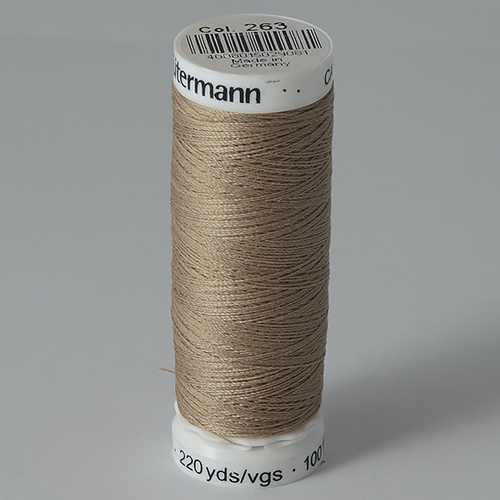Нитки Gutermann SewAll №100 200м цвет 263