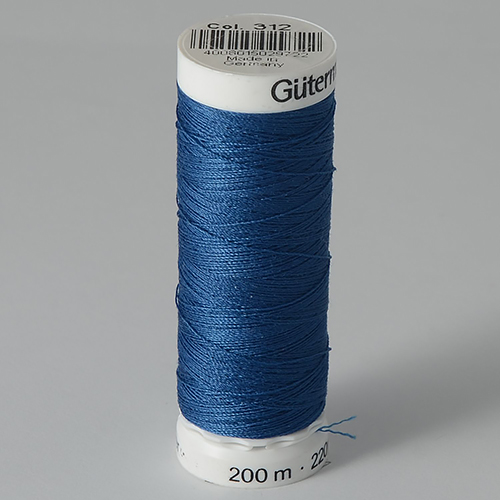 Нитки Gutermann SewAll №100 200м цвет 312