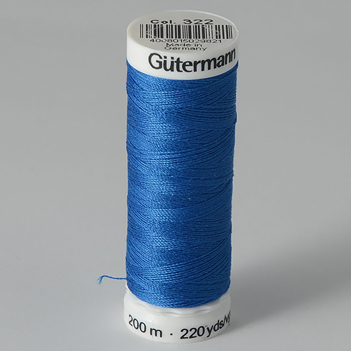 Нитки Gutermann SewAll №100 200м цвет 322