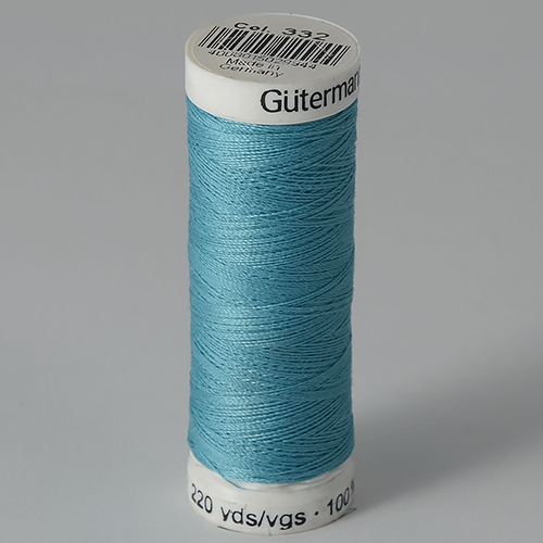 Нитки Gutermann SewAll №100 200м цвет 332