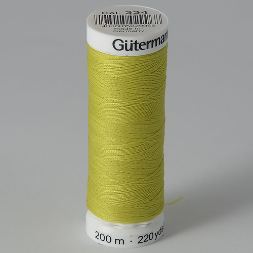 Нитки Gutermann SewAll №100 200м цвет 334