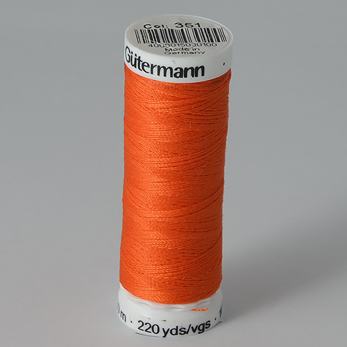 Нитки Gutermann SewAll №100 200м цвет 351