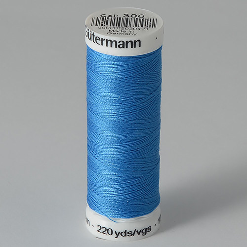 Нитки Gutermann SewAll №100 200м цвет 386