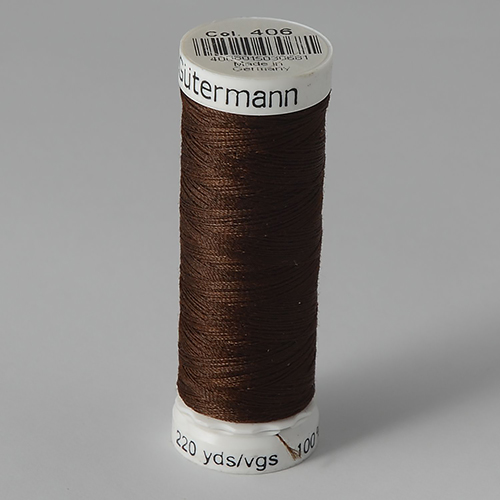 Нитки Gutermann SewAll №100 200м цвет 406