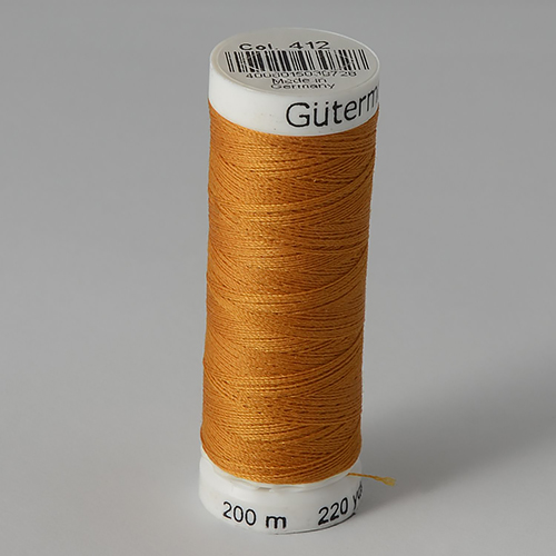 Нитки Gutermann SewAll №100 200м цвет 412