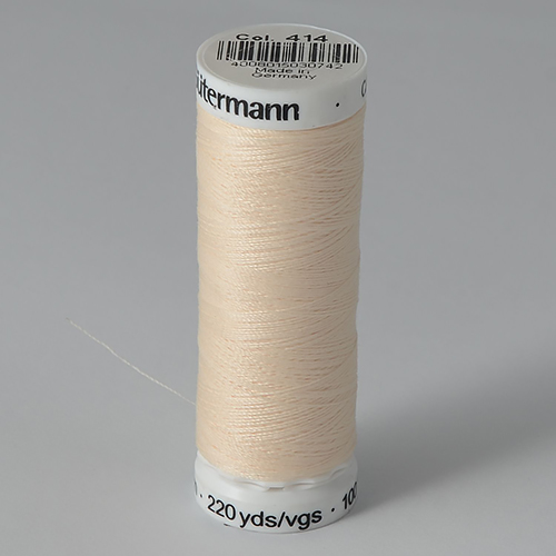 Нитки Gutermann SewAll №100 200м цвет 414