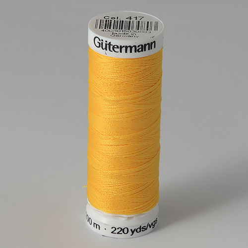 Нитки Gutermann SewAll №100 200м цвет 417