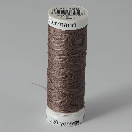 Нитки Gutermann SewAll №100 200м цвет 439