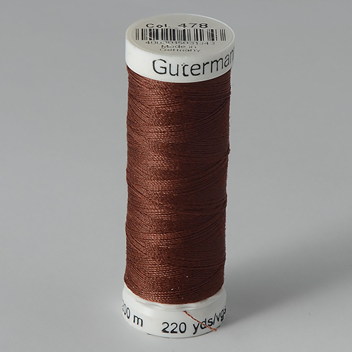 Нитки Gutermann SewAll №100 200м цвет 478