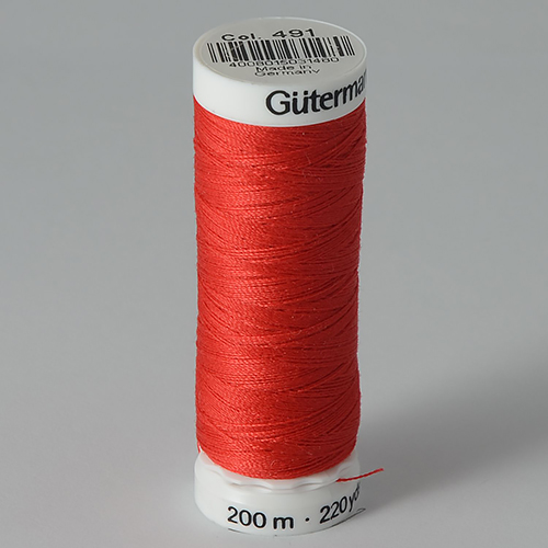 Нитки Gutermann SewAll №100 200м цвет 491