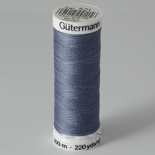 Нитки Gutermann SewAll №100 200м цвет 521