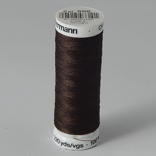 Нитки Gutermann SewAll №100 200м цвет 696