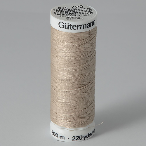 Нитки Gutermann SewAll №100 200м цвет 722