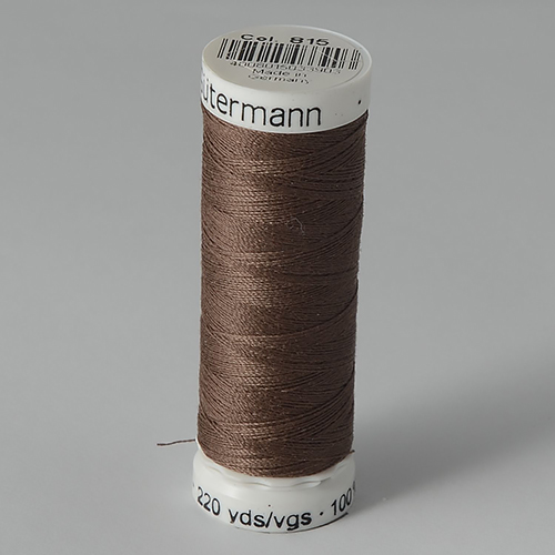 Нитки Gutermann SewAll №100 200м цвет 815