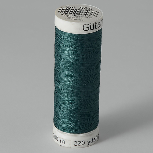 Нитки Gutermann SewAll №100 200м цвет 869