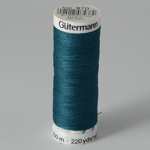 Нитки Gutermann SewAll №100 200м цвет 870