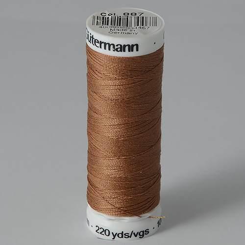 Нитки Gutermann SewAll №100 200м цвет 887
