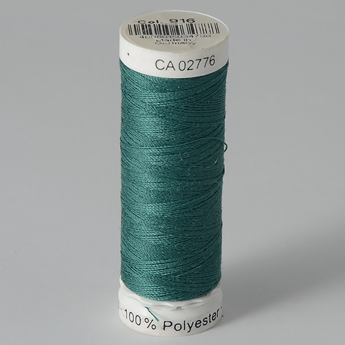 Нитки Gutermann SewAll №100 200м цвет 916