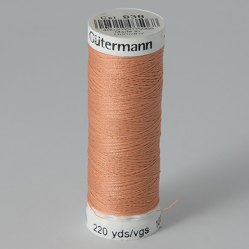 Нитки Gutermann SewAll №100 200м цвет 938