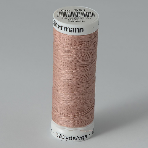 Нитки Gutermann SewAll №100 200м цвет 991