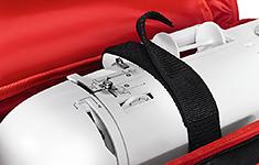 Сумка для швейной машины, черная в белый горох - Фото №1